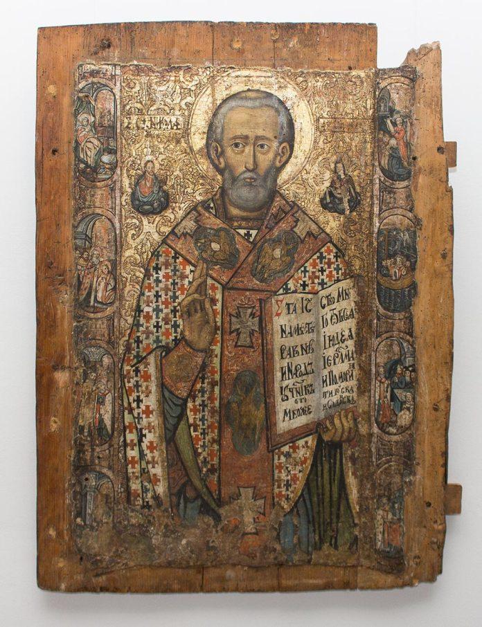 Експозиція виставки «Святий Угодник і Чудотворець»