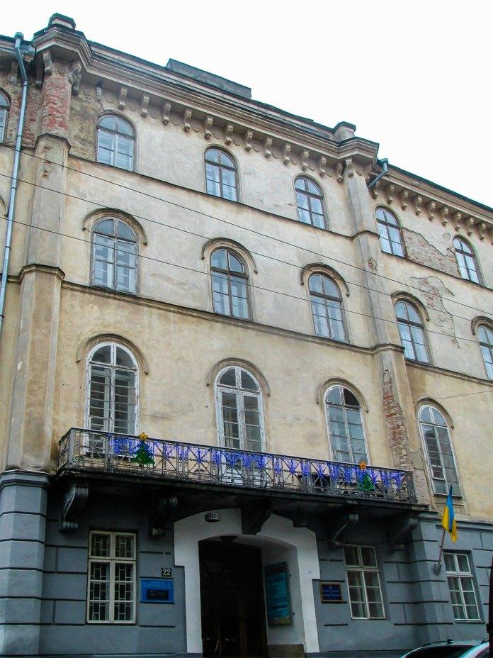 Будинок колишнього Народного Дому. Фото Мар'яни Іванишин.