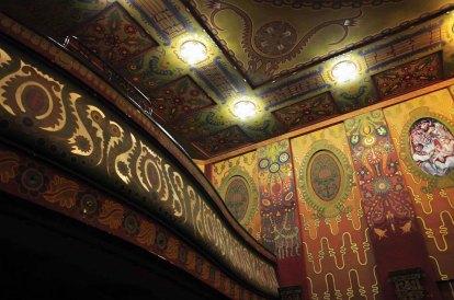 Фрагмент оздоблення Великої зали. Балкон.