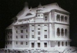 Макет проекту театру, підготований групою І. Левинського.