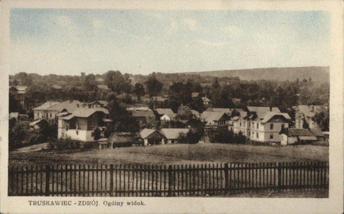 Трускавець. Панорама села, перша половина ХХ ст.