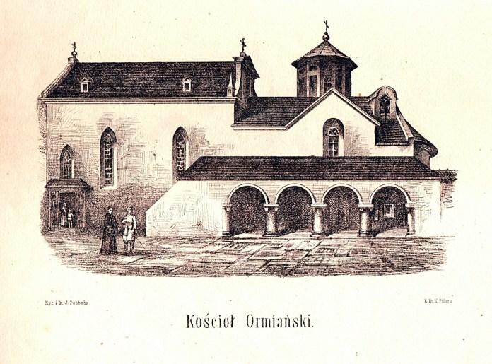 Й. Свобода. Вірменска церква