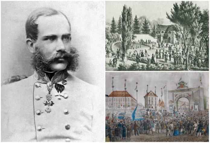 Як до Львова вперше Франц Йосиф І приїжджав