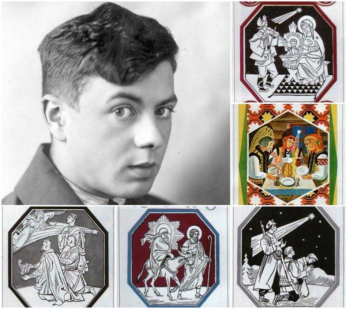Святослав Гординський та його Різдвяні листівки
