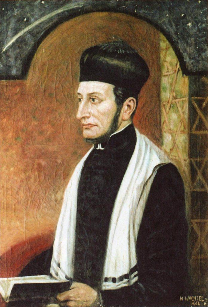 Вільгельм Вахтель. Портрет львівського рабина Абрагама Кона. 1902 рік