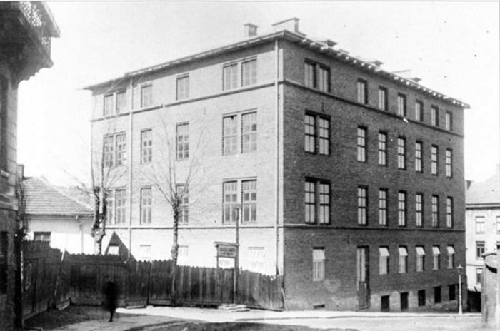 «Народна лічниця» у Львові, де працювала Софія Окуневська-Морачевська, 1903 р.