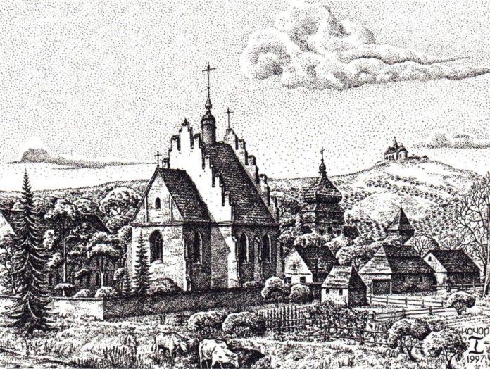 Костел Св. Станіслава. Реконструкція Ігора Качора