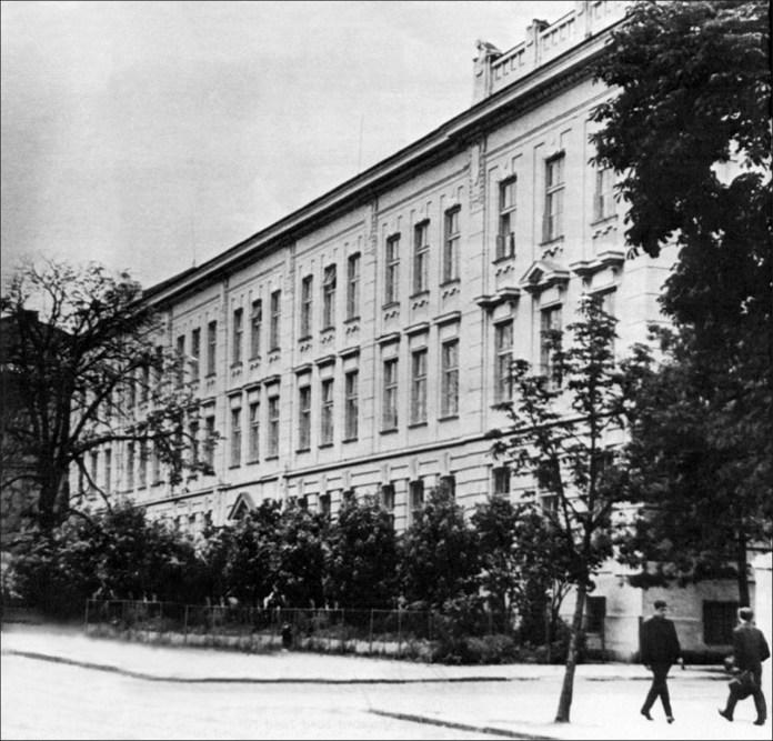 Академічна гімназія у Львові, де Софія Окуневська успішно склала іспит зрілості у 1885 році