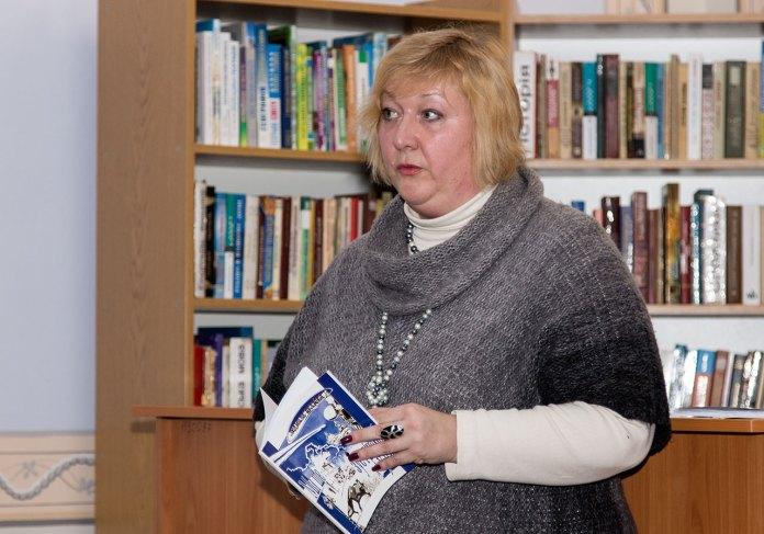 Письменниця та журналістка Людмила Пуляєва-Чижович