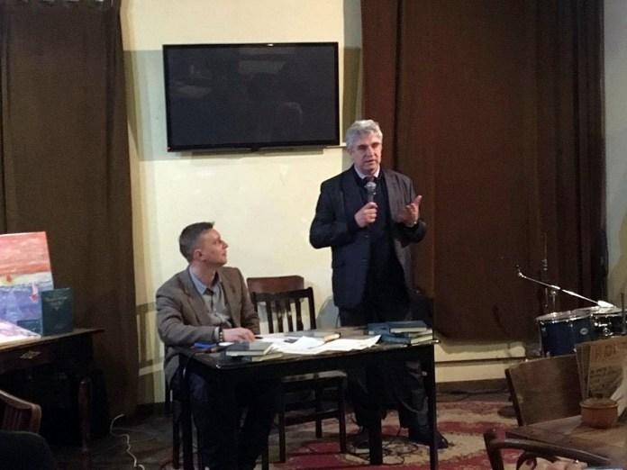 """Презентація книги """"Галицькі оповідки діда Тео"""", 23 лютого 2017 року."""