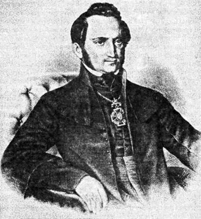 Портрет Михайла Куземського (автор не встановлений). Джерело: https://upload.wikimedia.org
