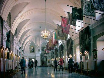 Лицарська зала кляштору паулінів у Ченстохові. Фото Сергія Гуменного.