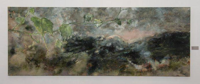 Експозиція виставки художнього проекту Петра Бевзи «Йордань»