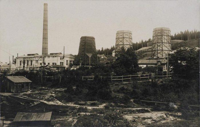 Борислав. Рафінерія. Поштівка 1931 року