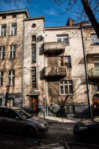 Львів, будинки по вул. Харківській, фото Мирослави Ляхович