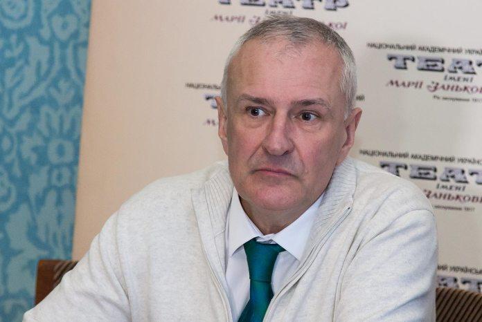 Генеральний директор театру імені Марії Заньковецької Андрій Мацяк