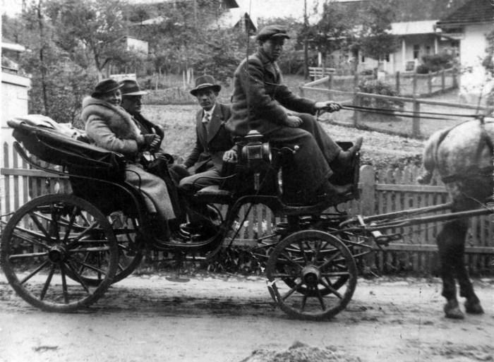 Гужовий транспорт для обслуговування відпочивальників, 20-30-і роки ХХ ст.