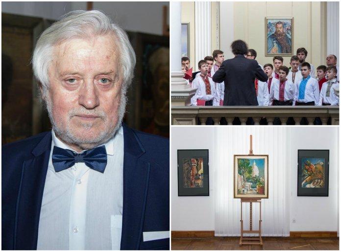 Мирославу Отковичу виповнилося 70 років - він відзначив цю дату розкішною виставкою