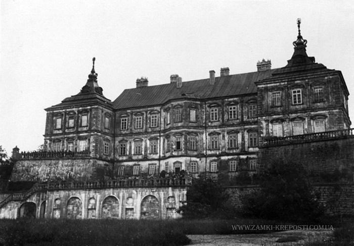 Підгорецкий замок Фото Л.Кульчицького, 1893 р.