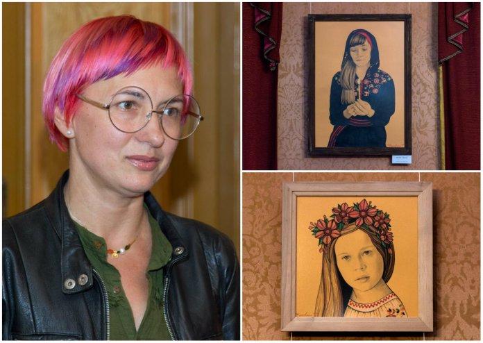 З нагоди Дня матері в домі Соломії Крушельницької відкрилась виставка Тетяни Черевань