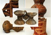 Біноклеподібні посудини трипільської культури у фондах Львівського історичного музею