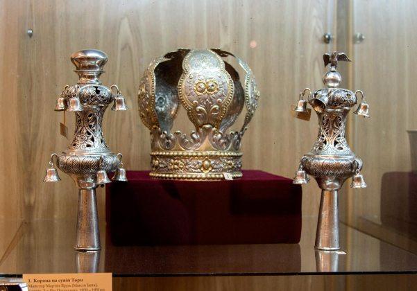 Експозиція виставки «Раритети єврейської спадщини»