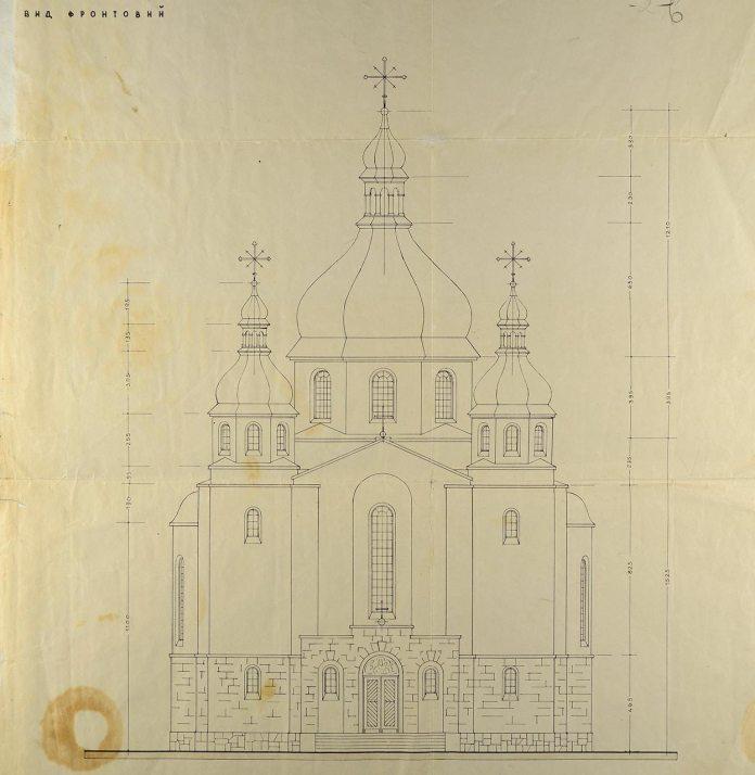 Проект церкви в селі Улазів гміни Старий Диків в Підкарпатському воєводстві