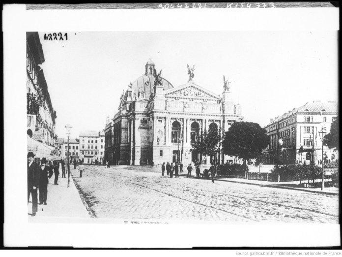Львівський міський театр (Львівська Опера), фото 1914 року