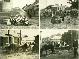 Мешканці Старого Самбора на фото 1934 року