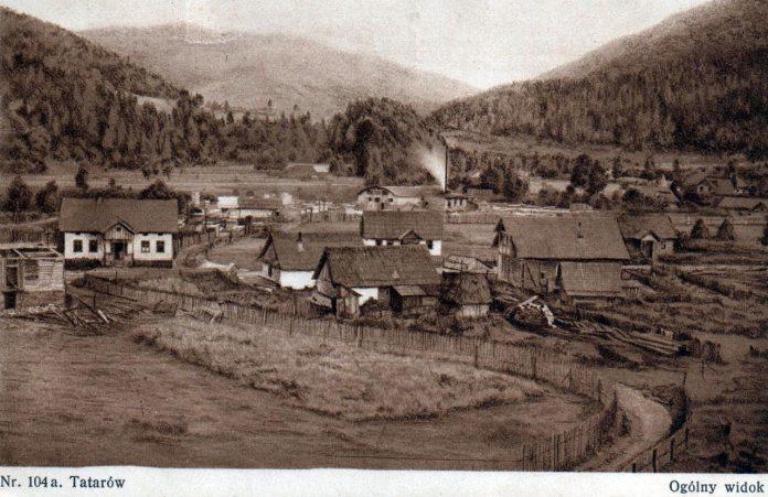 Таратак в селі Татарів
