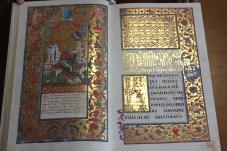 Ілюстрації з Євангелія. Фото К. Перегінець