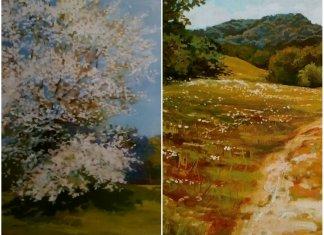 «Споглядаючи пейзаж», або два слова про виставку живопису Романа Венчака
