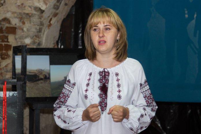 Керівник ГО «Центр допомоги сім'ям учасників АТО» Неля Васюта