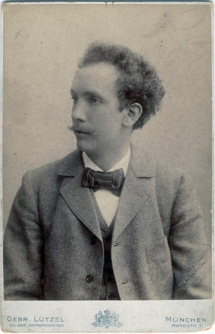 Німецький композитор Ріхард Штраус (1864-1949)