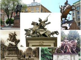 5 кінних монументів Львова