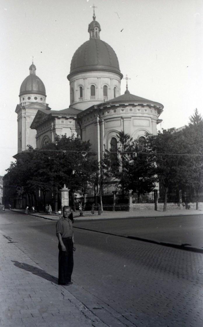 Преображенська церква. Фото Анатолія Васильківського, 1956 р.