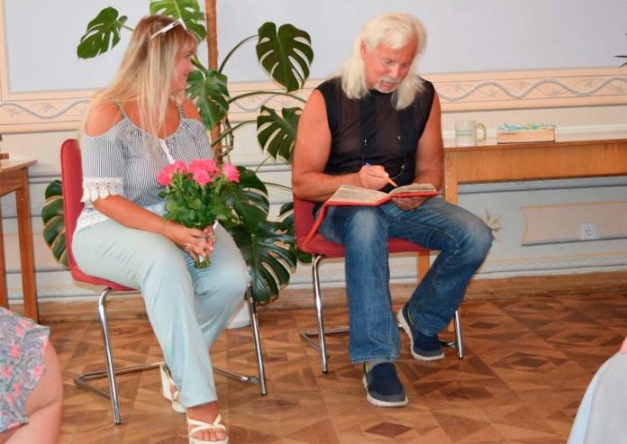Інеса Братущик та Орест Хома у проекті «ЗаЖиве». Фото Віри Шоколадзе
