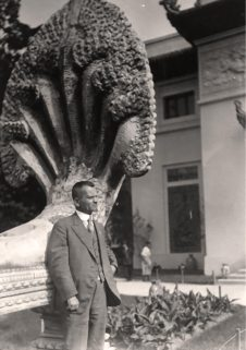 Іван Боберський на ІІІ Міжнародному конгресі з проблем шкільної гігієни в Парижі. Серпень 1910 р.