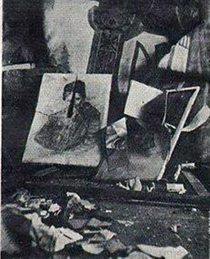 Читальня Просвіти с. Княгиничі, Станіславівське воєводство (тепер Івано-Франківська область), 1930р.