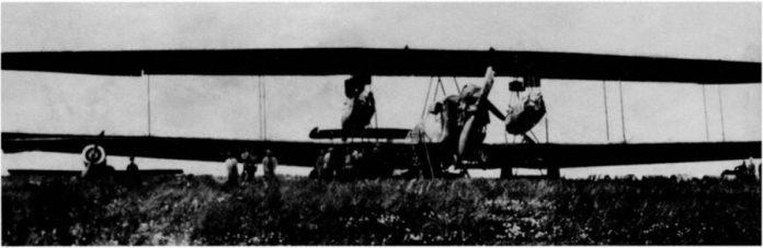 «Ньюпор»-23 зі складу Летунського відділу Галицької армії на летовищі під Кам'янцем-Подільським, серпень 1919 р. (Фото з приватної колекції Я.Тинченка)