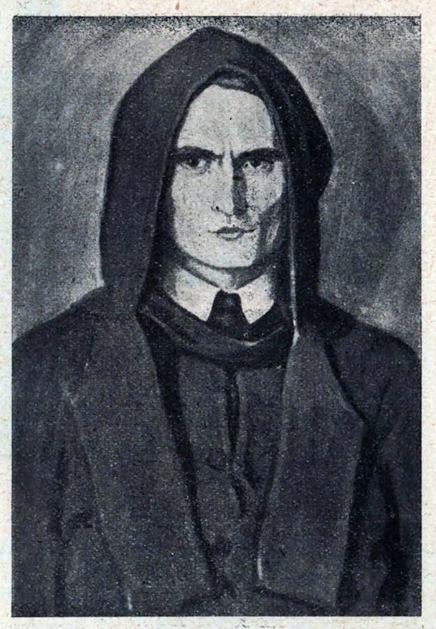 Колишній УСС, згодом монах ЧСВВ. Мал. Ю.Буцманюк