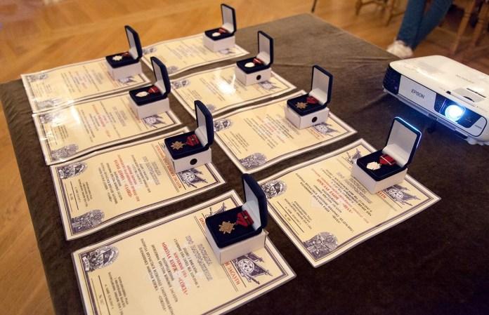 Хрести Бойової Заслуги нащадкам героїв Української повстанської армії