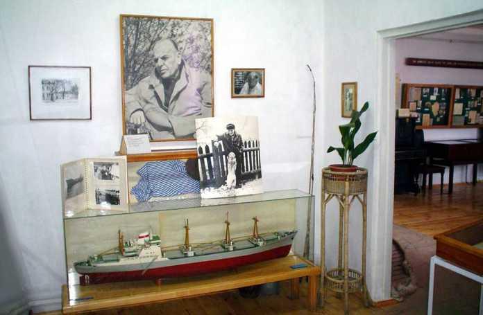 Експозиція Меморіального музею К. Г. Паустовського (філія Одеського літературного музею)