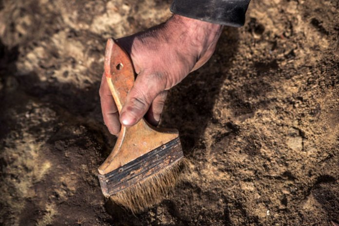 Розкопки на львівському Вернісажі. Фото: Рятувальна археологічна служба