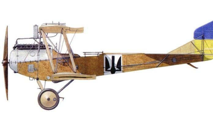 """Перший літак Летунського відділу Галицької армії, двомісний розвідник """"Бранденбург"""" Ц.1 27-ї серії, січень 1919 року"""