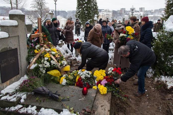 Похорон Ігоря Мельника 5 грудня 2017 року