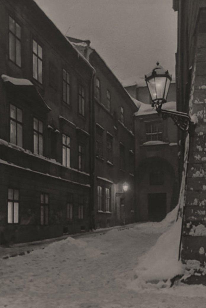Вулиця Вірменська у Львові, зима 1941 року. Фото Сергія Шиманського