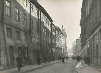 Сучасна вулиця Сербська у Львові, зима 1941 року. Фото Сергія Шиманського