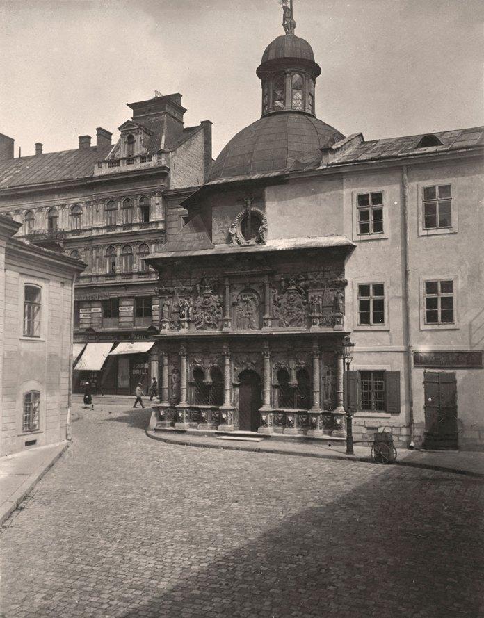 Площа Катедральна, фото початку ХХ століття