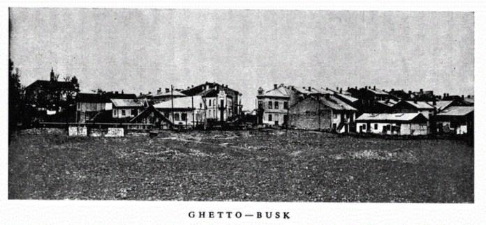 Єврейський квартал в Буську